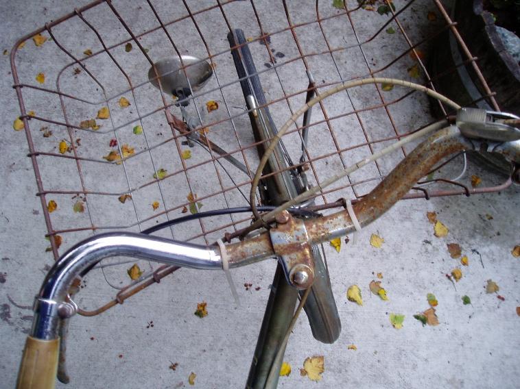 錆ついた自転車をピカピカに!子供と一緒にできる!