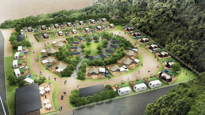 るり渓キャンプ|グランピングを京都で。新施設、今夏オープン! 5